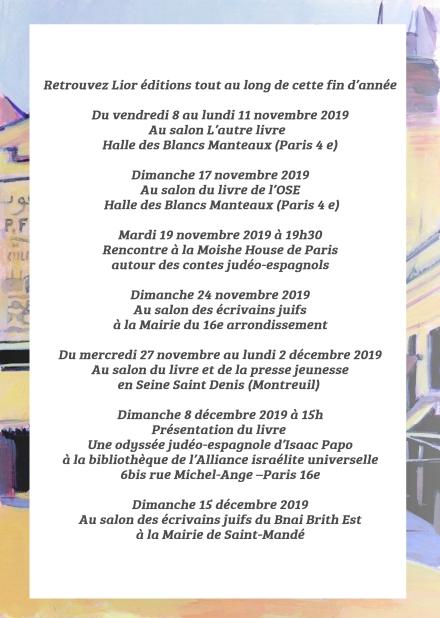 salons fin d'année 2019